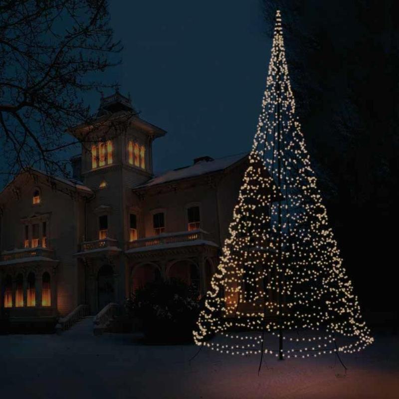 weihnachtsbeleuchtung led mast fahnen k ssinger. Black Bedroom Furniture Sets. Home Design Ideas