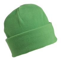 fleece bonnet with brim