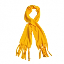 fleece scarf with fringes
