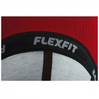 inside with Flexfit rubberband