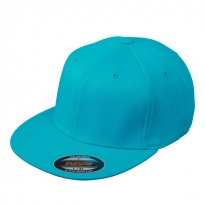 Flexfit-cap with flat visor