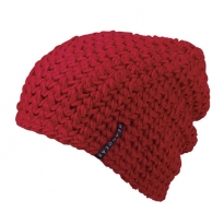 coarsly crocheted beanie