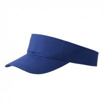 Sunvisor in blau