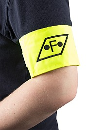 Armbands with writing or logo