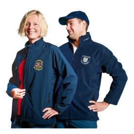 softshell and fleece jackets with logo