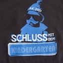 T-Shirt mit Motiv in Siebdruck