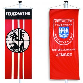 bannerflags of firebrigades
