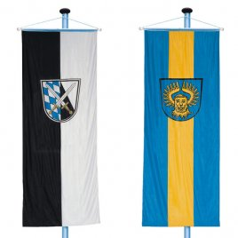 bannerflags as municipality flags