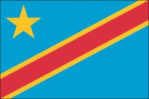 national flag of the Democratic Republic of Congo