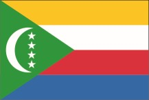 national flag of the Union of the Comoros