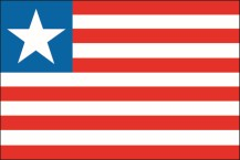 flag of the Republic of Liberia