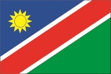 national flag of the Republic of Namibia