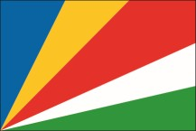 flag of the Republic of Seychelles