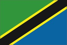 national flag of the United Republic of Tanzania
