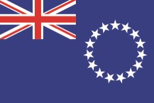 national flag of the Cook Islands