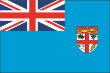 national flag of the Republic of Fiji