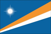 national flag of the Republic of the Marshall Islands
