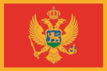 country flag of Montenegro