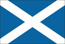 country flag of Scotland