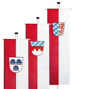 municipality banner flags
