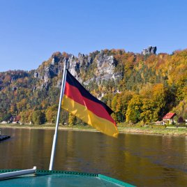 boat flag Germany