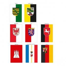 einige Bundesländer-Tischbanner