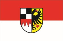 Mittelfranken flag with crest