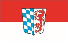 Niederbayern flag with crest