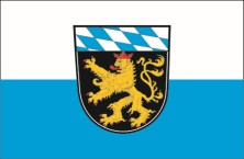 Oberbayern flag with crest