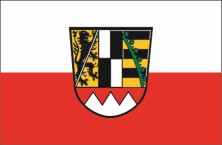 Oberfranken flag with crest