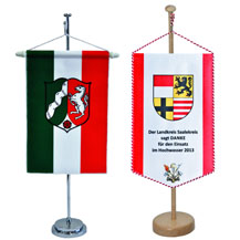table banners and table standards