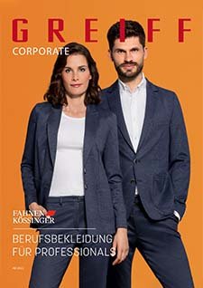 Coverbild des Corporate Wear Katalogs