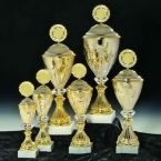 goblet set in six different sizes