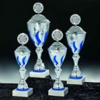goblet set in four different sizes with lid