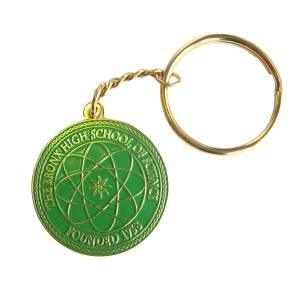 Keyring for metal badges