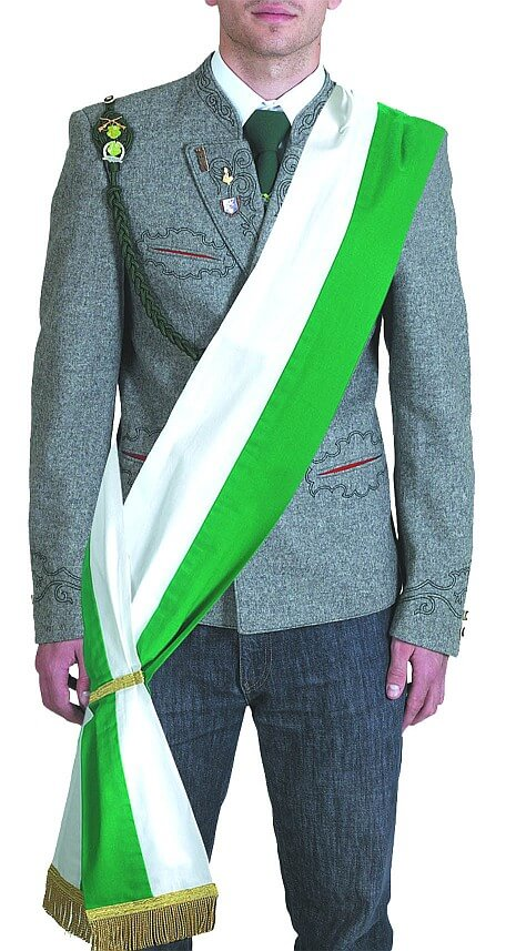 Sashes without embroidery