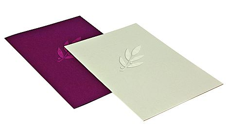 Document folders for a stylish presentation of documents