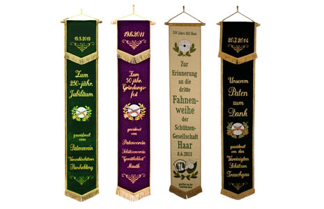 Flag banners for your shooting club