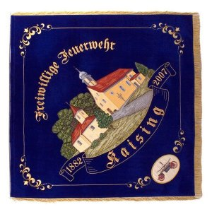 The town view of the firebrigade flag of Kaising