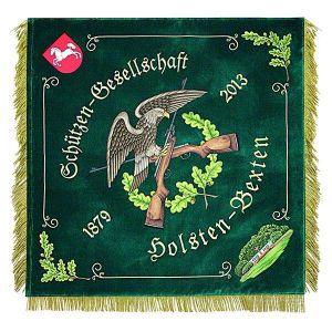 Shooting club flag of an association from Nordrhein-Westfalen