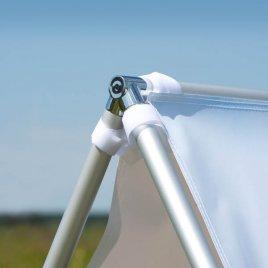 stabile Verbindungsteile und Rahmen aus Aluminium