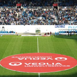 Werbung im Stadion